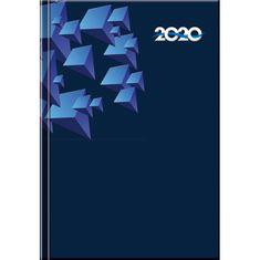 Spektrum Grafik Diár Print denný blue 2020