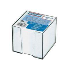 Donau Bloček kocka nelepená 83x83x75mm biela v čírej škatuľke