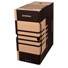 Donau Archívny box 155mm hnedý