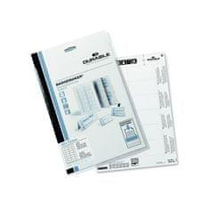 Durable Náhradné papiere BADGEMAKER 40x75 mm biele