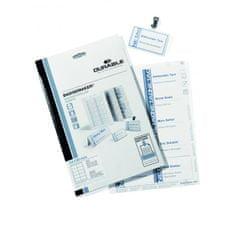 Durable Náhradné papiere BADGEMAKER 54x90 mm biele