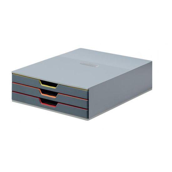 Durable Zásuvkový box VARICOLOR 3