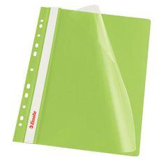 Esselte Rýchloviazač PVC s eurodierovaním VIVIDA zelený