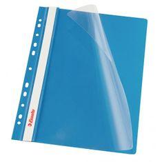 Esselte Rýchloviazač PVC s eurodierovaním VIVIDA modrý