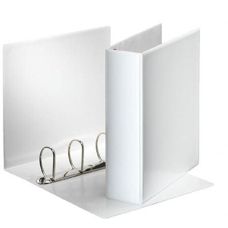 Esselte Zakladač prezentačný 8,6cm 4D-krúžkový biely