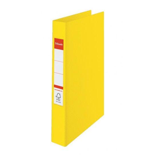 Esselte Zakladač 4-krúžkový celoplastový 4,2cm VIVIDA žltý