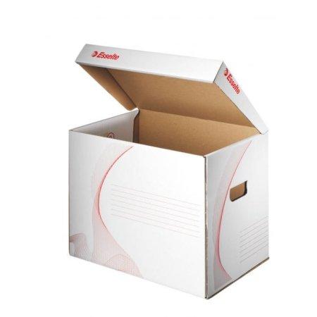 Esselte Archívna škatuľa univerzálna biela/červená