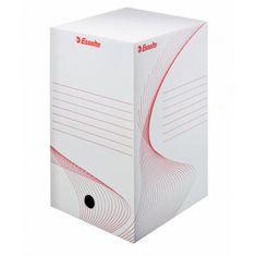 Esselte Archívny box 200mm biely/červený