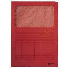 Esselte Zakladacie zložky s okienkom červené