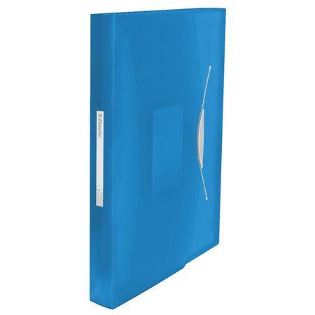 Esselte Aktovka plastová s priehradkami VIVIDA modrá