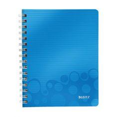 LEITZ Blok poznámkový štvorčekový WOW A5 modrý