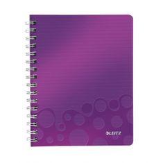 LEITZ Blok poznámkový štvorčekový WOW A5 purpurový