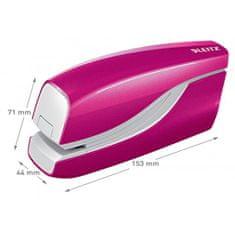 LEITZ Elektrická zošívačka New NeXXt WOW 5566 ružová