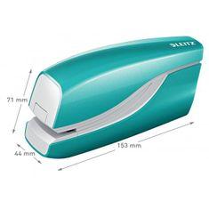 LEITZ Elektrická zošívačka New NeXXt WOW 5566 ľadovo modrá