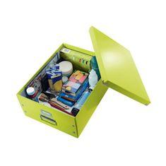 LEITZ Veľká škatuľa A3 Click & Store WOW zelená