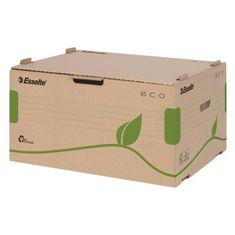 Esselte Archívna škatuľa s predným otváraním ECO hnedá