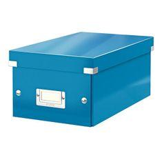 LEITZ Škatuľa na DVD Click & Store WOW modrá