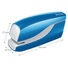 LEITZ Elektrická zošívačka New NeXXt WOW 5566 modrá