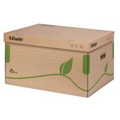 Esselte Archívna škatuľa s vekom ECO hnedá