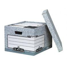 Fellowes Archívna škatuľa veľká BANKERS BOX sivá/biela