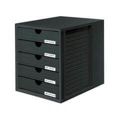 Han Zásuvkový box System zatvorený čierny