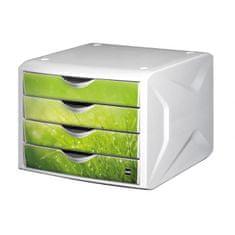 Helit Zásuvkový box Chameleón springtime