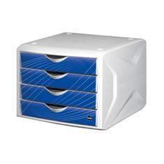 Helit Zásuvkový box Chameleón blue knight