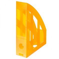Herlitz Stojan na časopisy transparentný oranžový