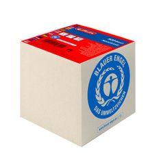 Herlitz Blok kocka lepená 90x90x90mm recyklovaná biela