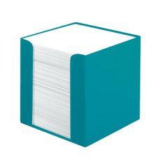Herlitz Blok kocka nelepená Color Blocking 90x90x90mm karibská tyrkysová