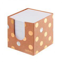 Herlitz Blok kocka nelepená Pure Glam 90x90x90mm kartónová krabička