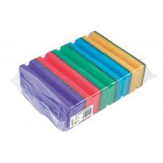 Cedric Hubka na riad tvarovaná farebná 10 ks