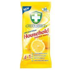 Green shield Green Shield čistiace utierky antibakteriálne 50ks