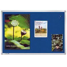 Legamaster Tabuľa napichovacia UNIVERSAL 100x150 cm modrá