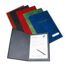 Karton P+P Podpisová kniha plastová 14 modrá