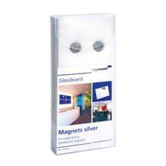 Legamaster Magnety na tabule GLASSBOARD, 6ks