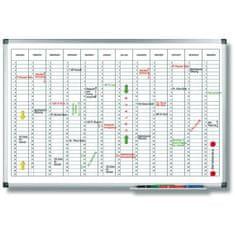 Legamaster Plánovacia tabuľa ročná PREMIUM vertikálna 60x90 cm