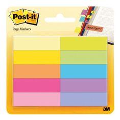Post-It Záložky papierové 10x50mm