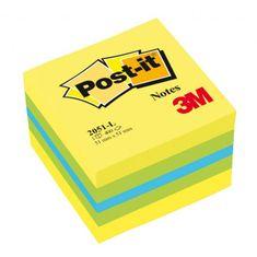 Post-It Bloček kocka 51x51 mini mix farieb