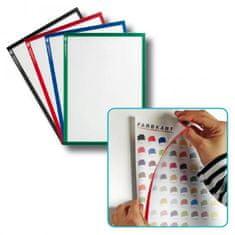 Legamaster Magnetický držiak dokumentov A4 5ks červený