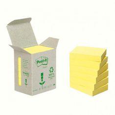 Post-It Bločky recyklované 38x51 žlté