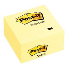 Post-It Bloček kocka 76x76 žltá 450l