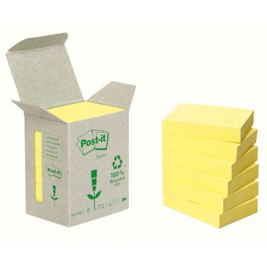 Post-It Bločky recyklované 76x76 žlté