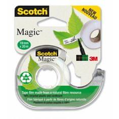3M Lepiaca páska Scotch Magic neviditeľná popisovateľná 900 19mmx20m s dispenzorom