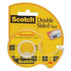 3M Lepiaca páska obojstranná Scotch 12mmx6,3m s dispenzorom