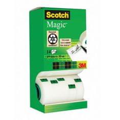 3M Lepiaca páska Scotch Magic neviditeľná popisovateľná 19mmx33m v krabičke 12+2 zdarma