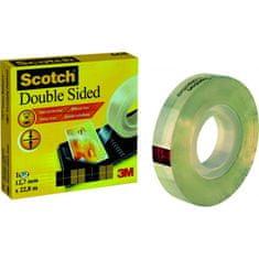 3M Lepiaca páska obojstranná Scotch 665 12mmx22,8m v krabičke