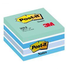 Post-It Bloček kocka 76x76 ľadová 2028N