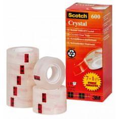 3M Lepiaca páska Scotch 600 19x33m zvýhodnené balenie 7+1zdarma