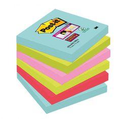 "Post-It Bločky Super Sticky ""Miami"" 76x76mm"